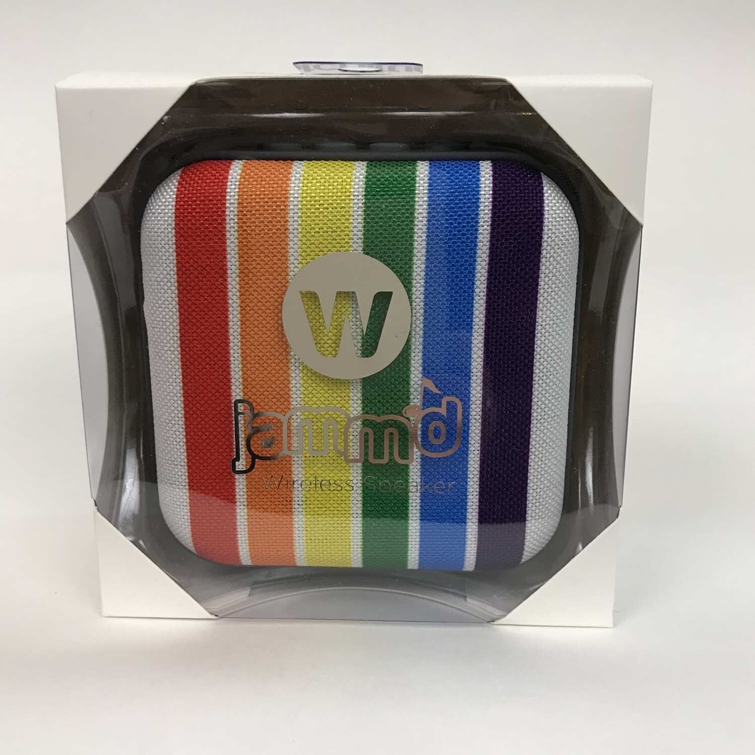Bluetooth Speaker - Rainbow Stripes