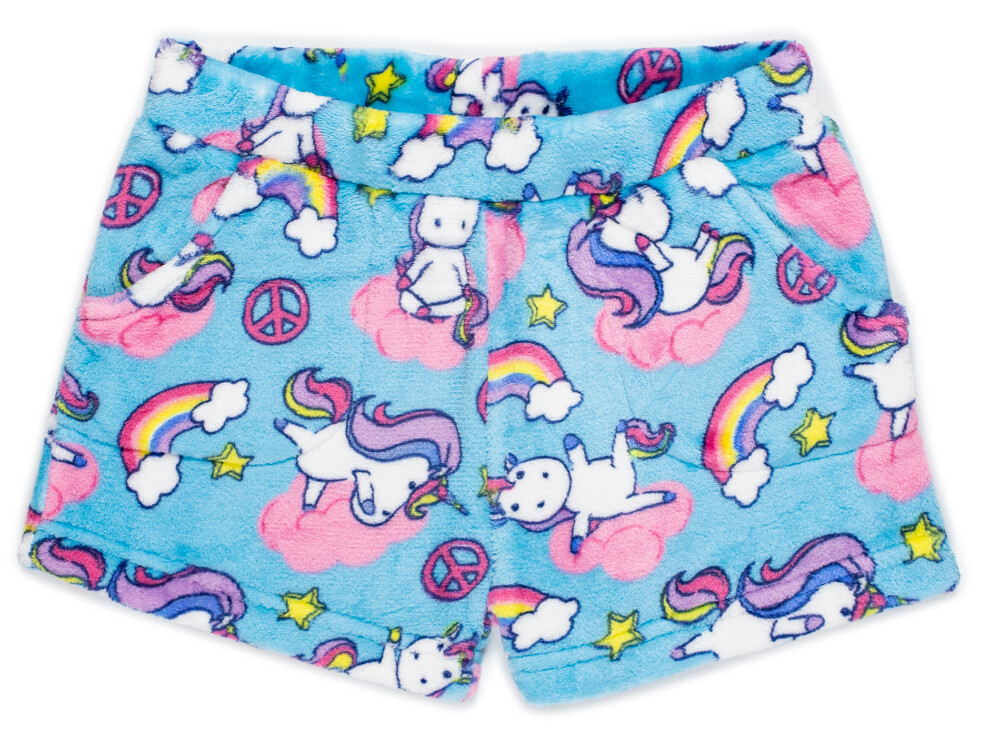 Girls' Fleece YOGACORN Lounge Shorts