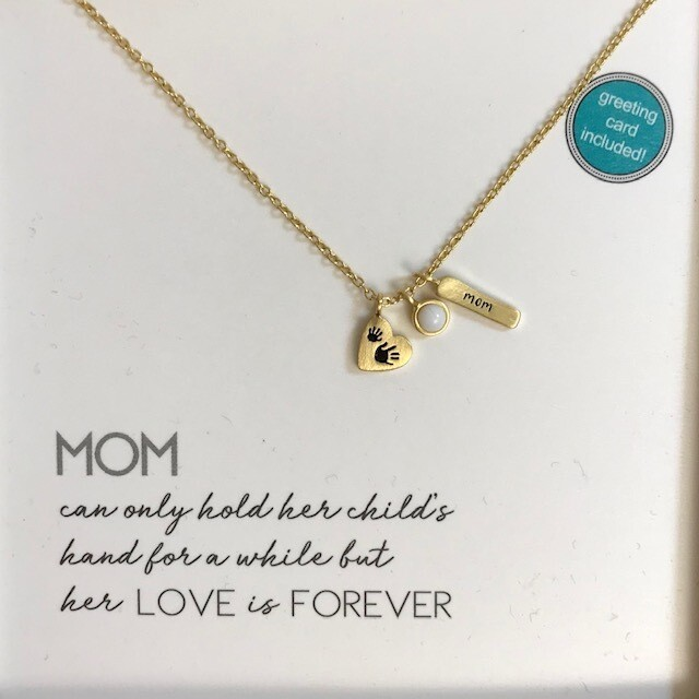 Charm Necklace - Mom