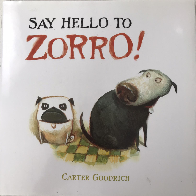 Book - Say Hello To Zorro