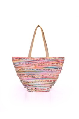 Puka Shell Multi Color Tote