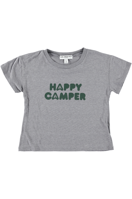 Happy Camper Girls Tee