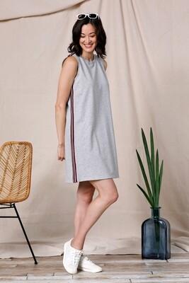 Knit Side Stripe Dress