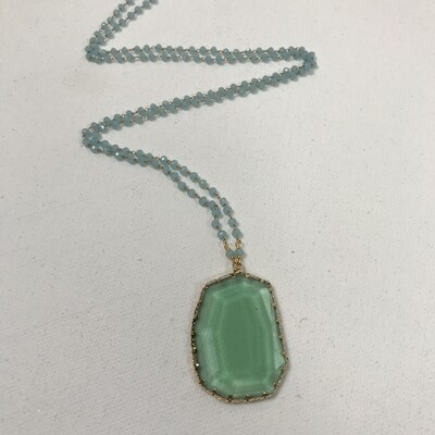 Gem Pendant on 30