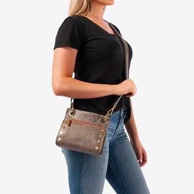 Hammitt Tony Crossbody Bag - Black w Gunmetal