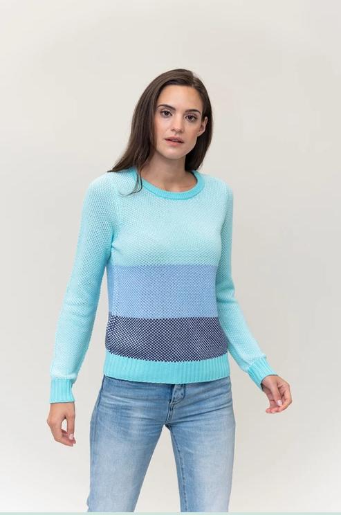"Mint ""Pop"" Sweater"