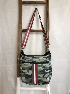Blake Neoprene Crossbody Bag SOAR (Camo/Red)
