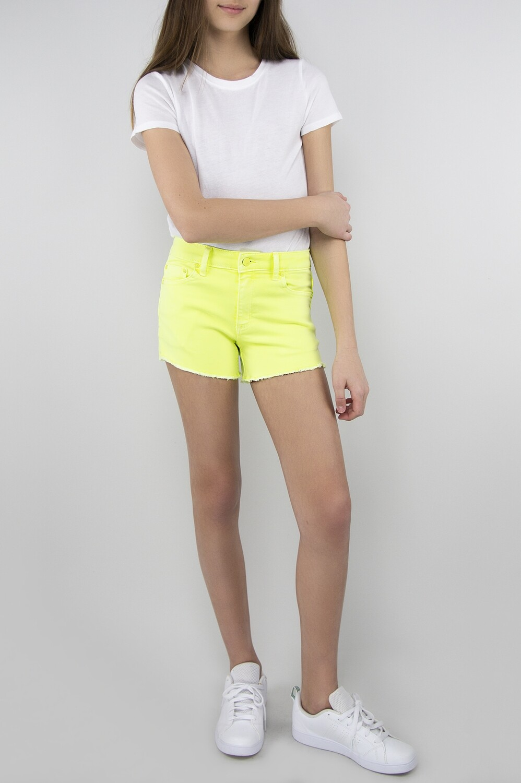 Neon Yellow Brittany Short