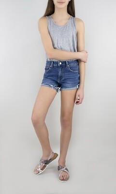 Brittany 5 Pocket Indigo Short