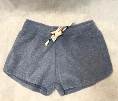Girls' Reverse Fleece Chambray Short