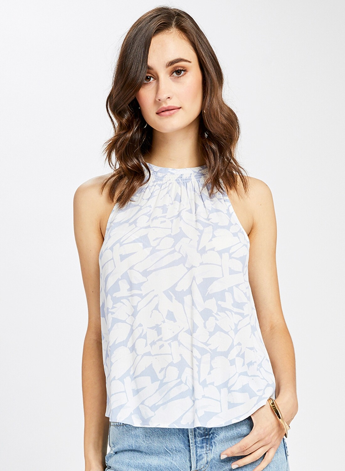 Bluebell Abstract Tank