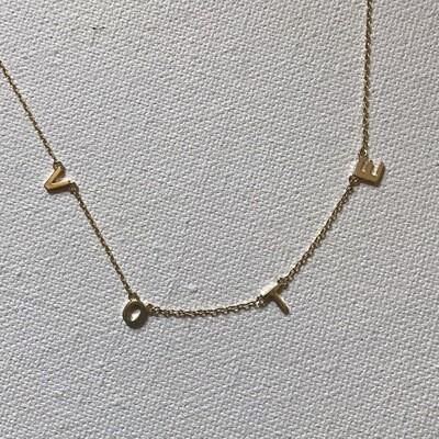 VOTE Necklace - Gold