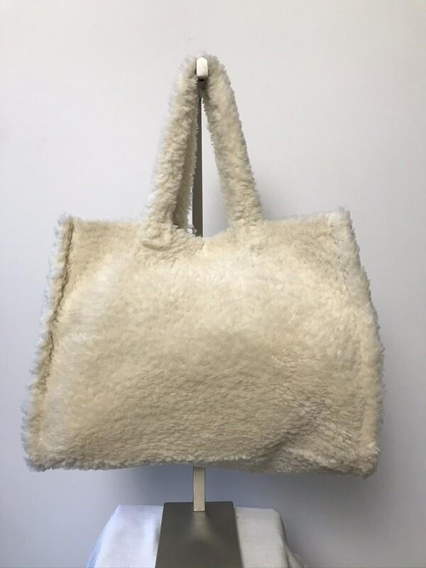 Teddy Tote Bag Ivory
