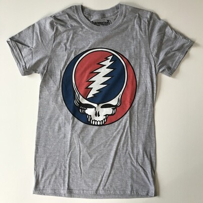 Grateful Dead Red White Gray T-shirt