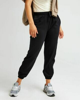 Women's Recycled Fleece Sweatpant - Black
