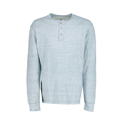 Men's Slub Knit Henley