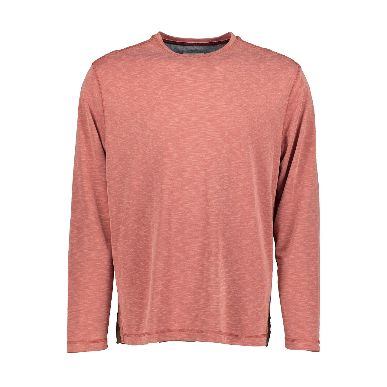 Men's Sueded Tencel Crew - Brick