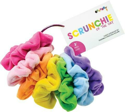Days of Week Scrunchies