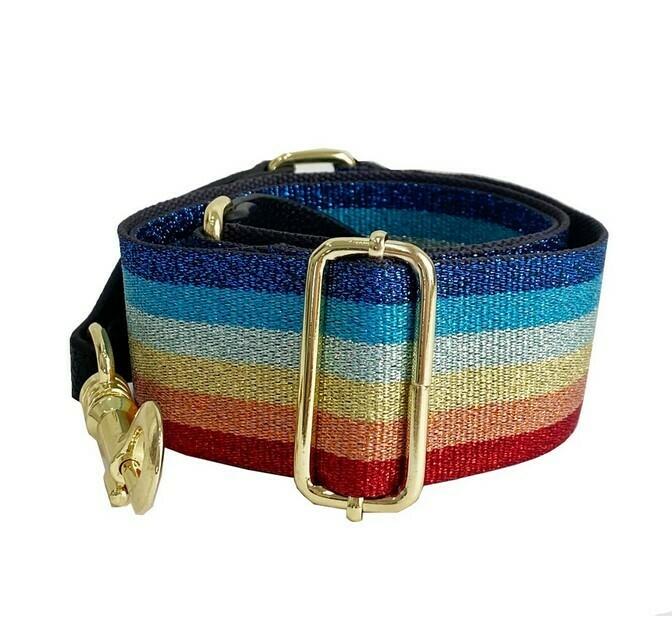 Bag Strap - Rainbow Shimmer Gold