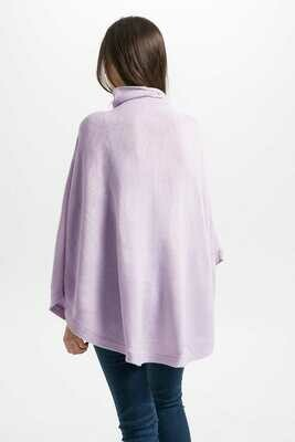 Iverness Poncho Languid Blush