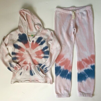 Girls Flamingo Pink Jogger