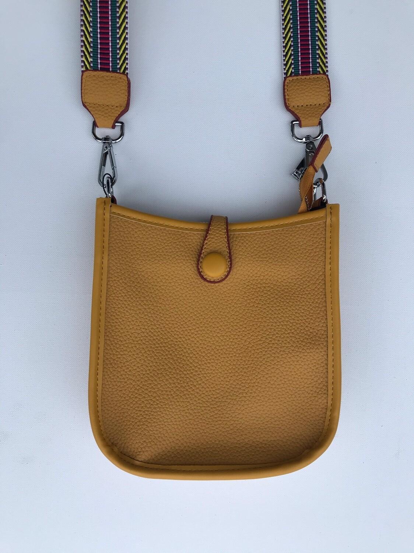 Faux MINI Messenger Bag YELLOW