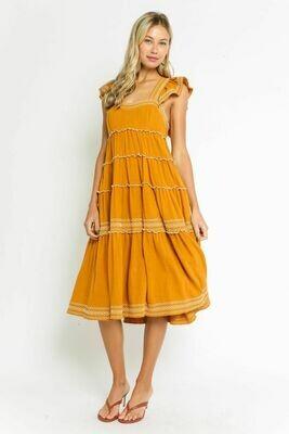 Sienna Yellow Sundress