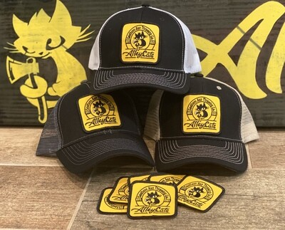 Trucker Cap with Embroidered Patch