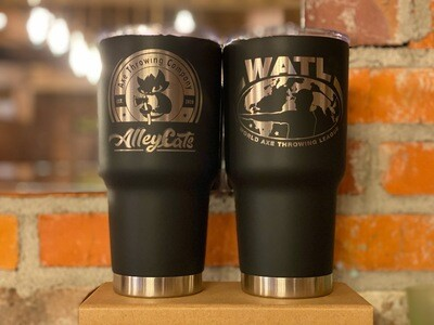 Alley Cats Engraved Tumbler