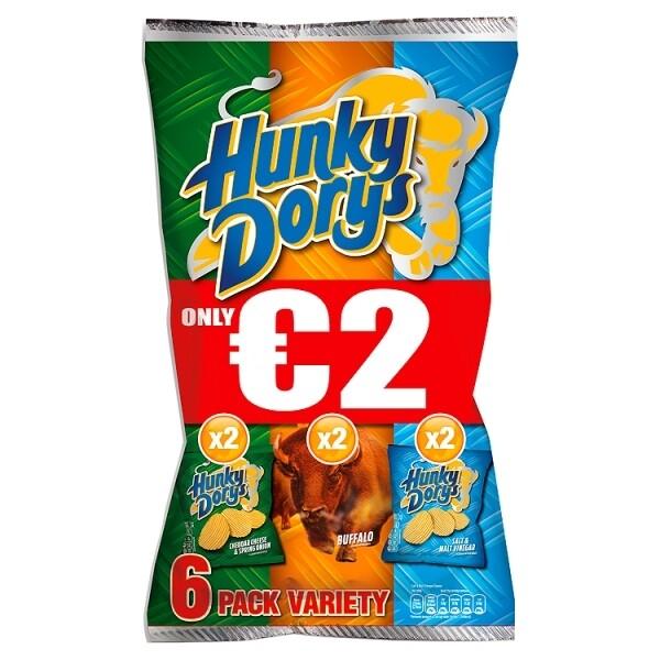 Hunky Dorys 6 Pk Variety