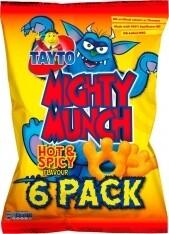 Tayto Mighty Munch 6 PK