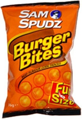 Spudz Burger Bites