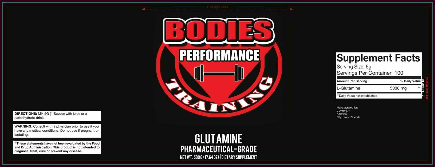GLUTAMINE (PHARMACEUTICAL GRADE)