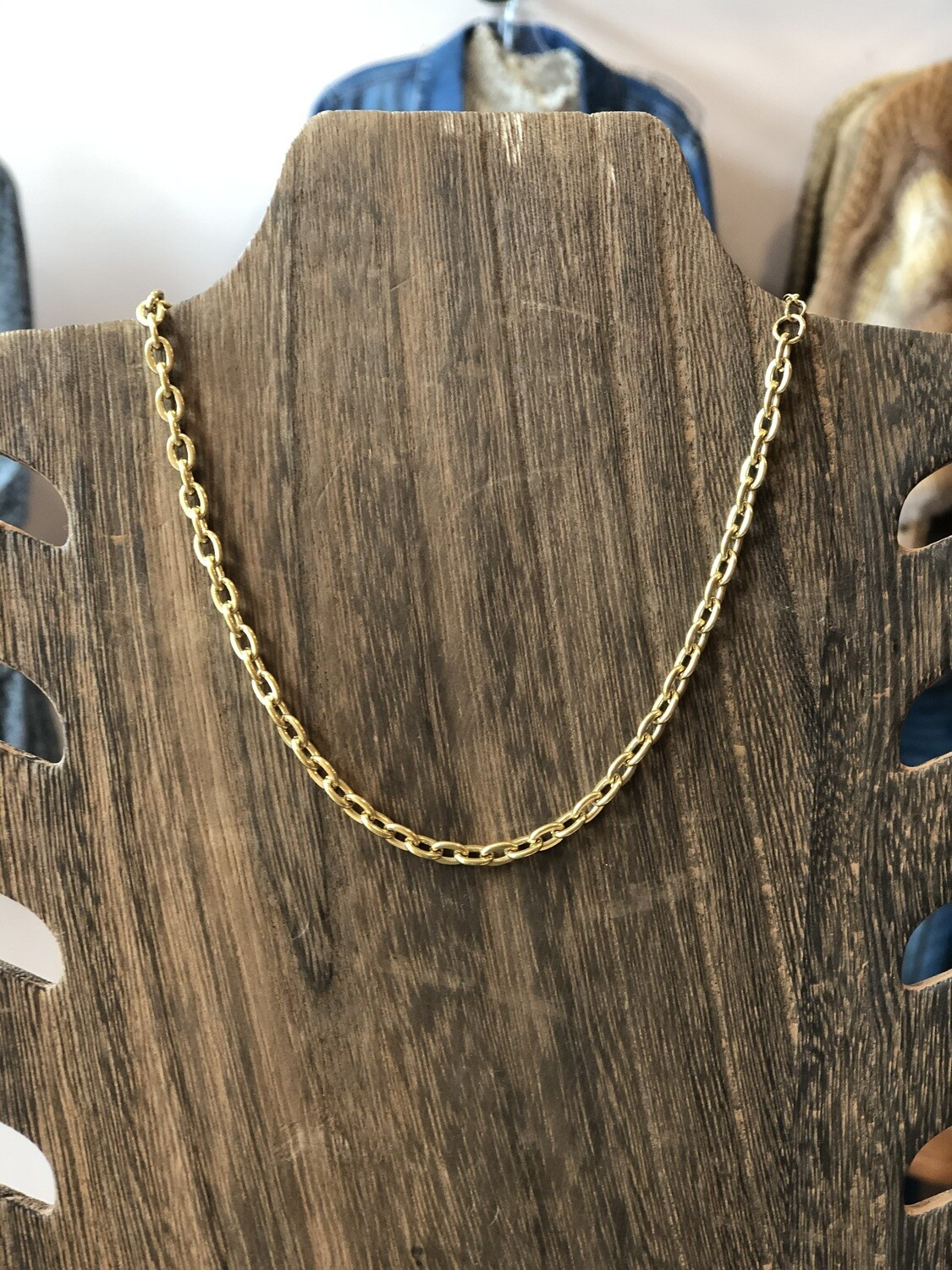 14k gold chain link