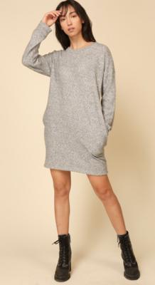 L/S swtr dress