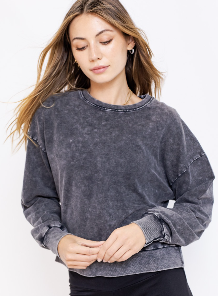 Mineral Washed Sweatshirt