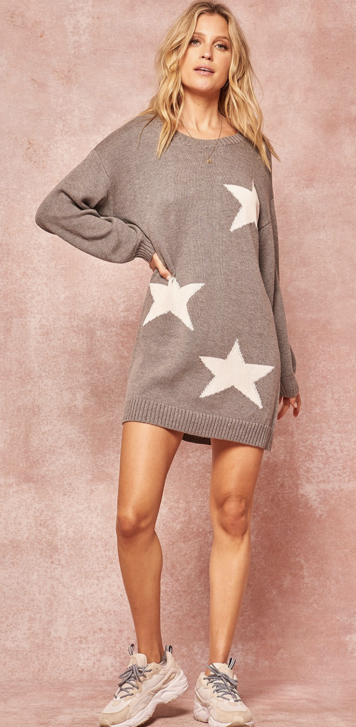 Star Swtr Dress