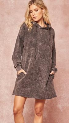 Vintage Hoodie Dress