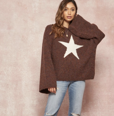 Exploded Star Sweater