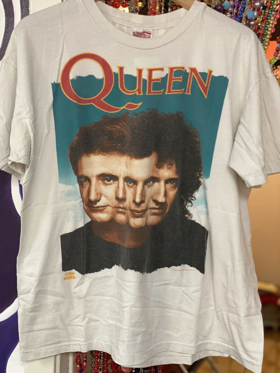 Vintage 1989 Miracle Album Cover 1992 Queen Shirt - XL