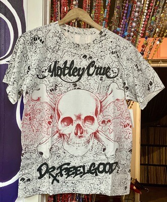 Vintage 1990 Motley Crue Dr. Feelgood Shirt - M/L