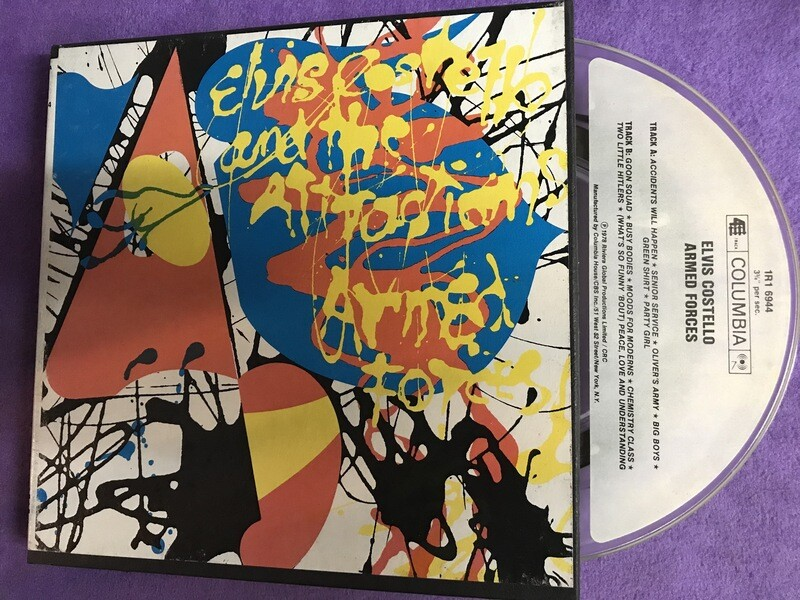 Elvis Costello - Armed Forces 1978 - Reel to Reel