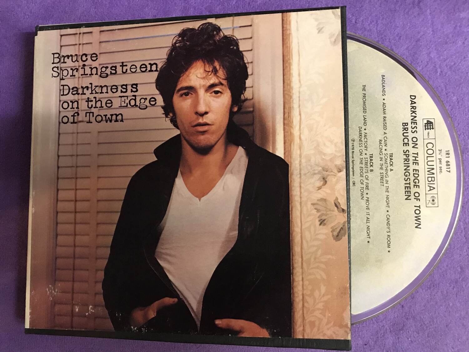 Bruce Springsteen Darkness on the Edge of Town 1978 - Reel to Reel