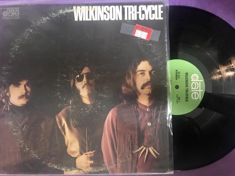 Wilkinson Tri-Cycle - Self-Titled 1969