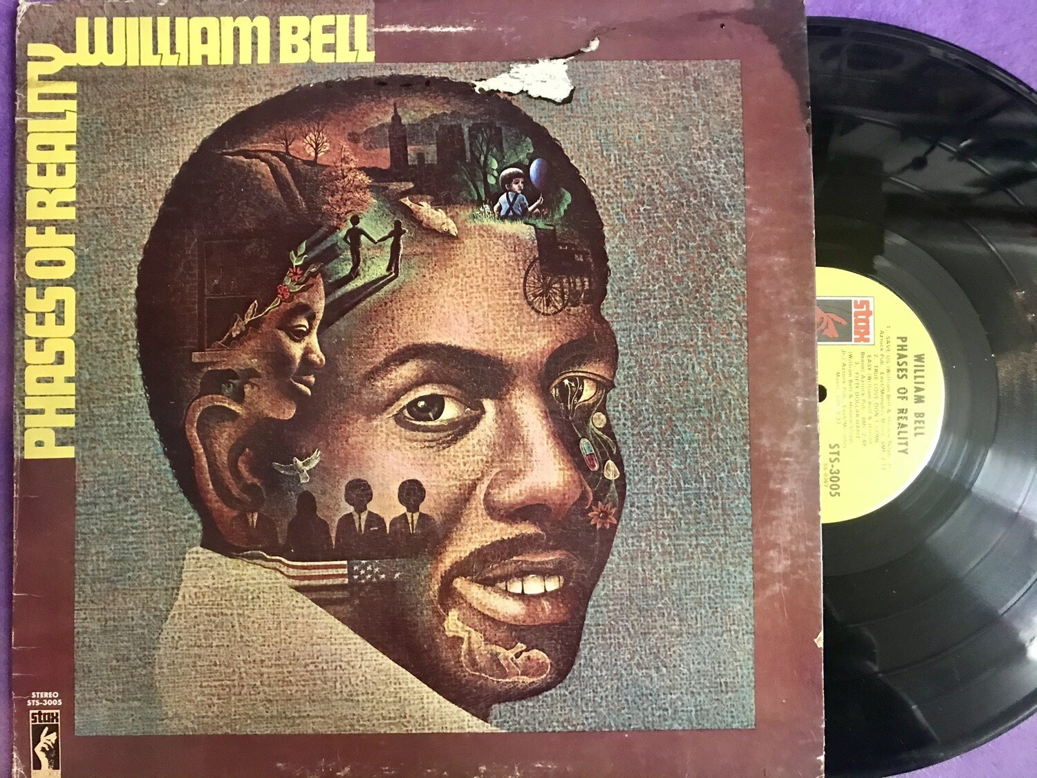 William Bell Phases of Reality 1972 Stax.
