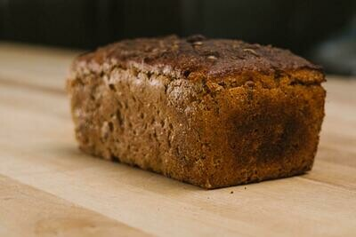 Seeded rye loaf