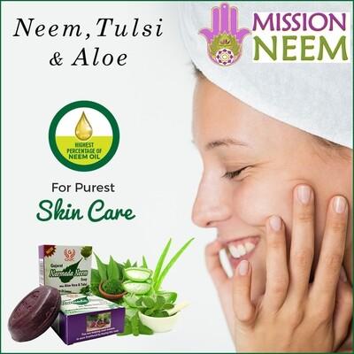 Handmade Neem, Tulsi & Aloe Soap