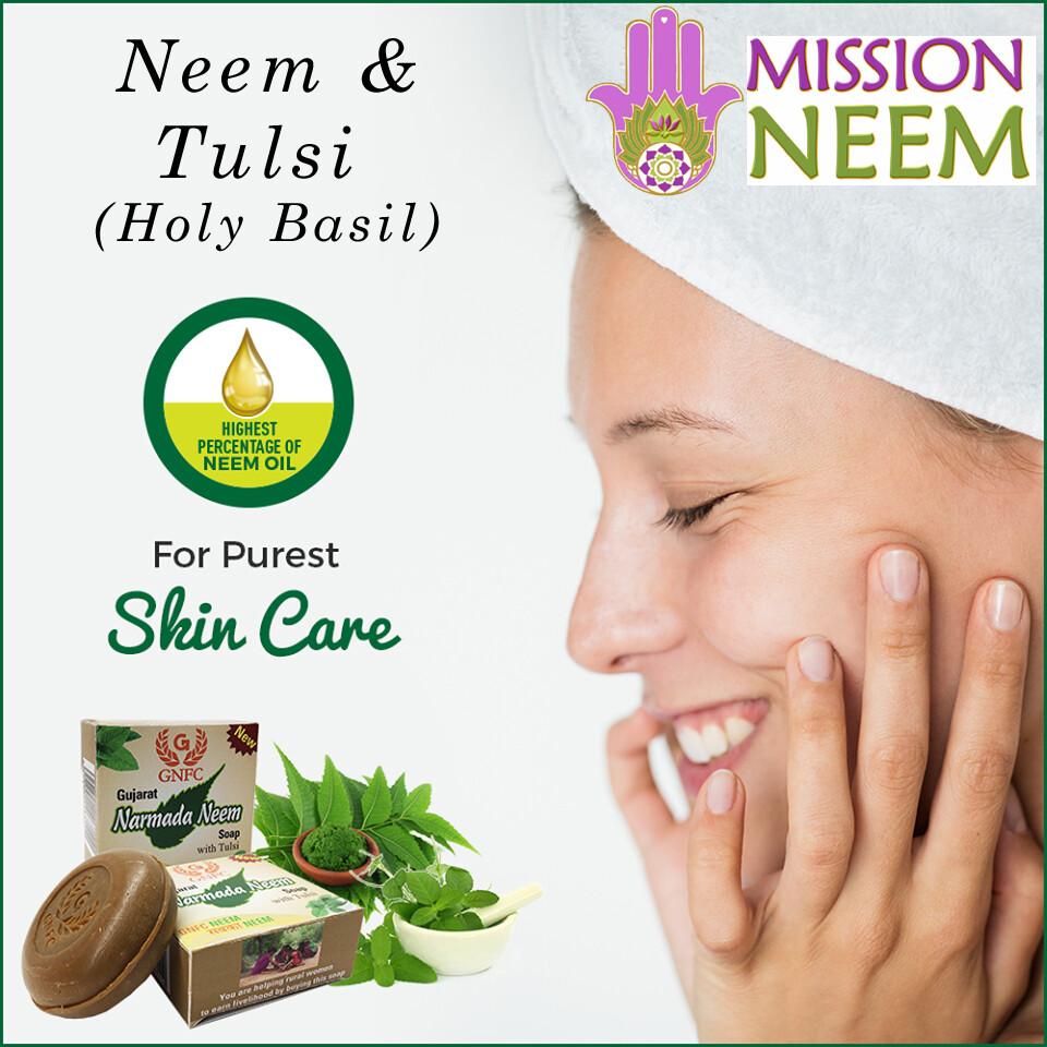 Handmade Neem & Tulsi Soap