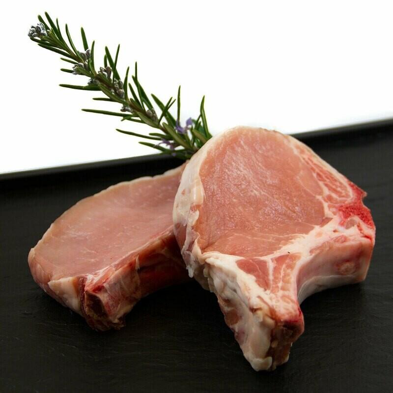 Côtelettes de porc CH coupées (env. 220gr)