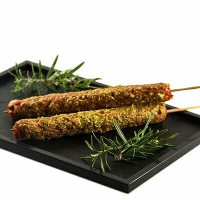 Brochette de viande hachée de boeuf CH et de veau CH (90gr)